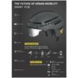 CRATONI SMARTRIDE Speed Elektromos Kerékpár sisak 2020 - Több Színben