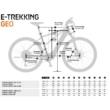 KTM MACINA CROSS LFC TRAPÉZ Női Elektromos Cross Trekking Kerékpár 2021