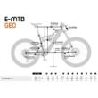 KTM MACINA RACE 271 Férfi Elektromos MTB Kerékpár 2021