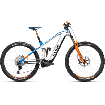 Cube Stereo Hybrid 140 HPC ACTIONTEAM 625 KIOX  Férfi Elektromos Összteleszkópos MTB Kerékpár 2021