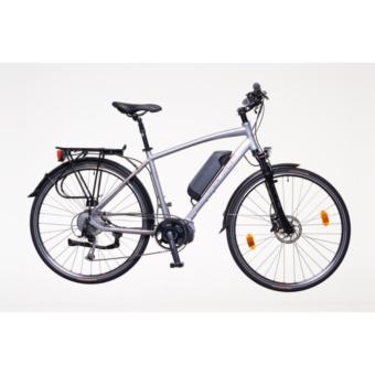 """Neuzer Menton Férfi ezüst/piros-szürk 20"""" Elektromos Kerékpár"""
