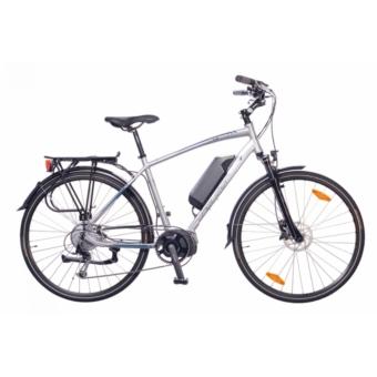 """Nezuer Menton férfi ezüst/cián 20"""" Elektromos kerékpár"""