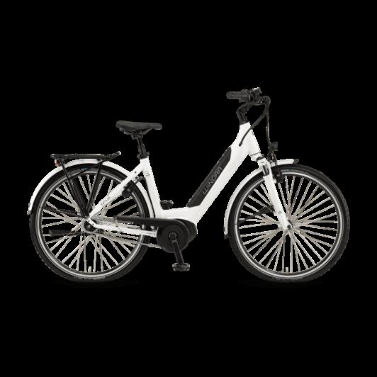 "Winora Sinus iN8 i500 28"" EASY ENTRY White Unisex Elektromos Városi Kerékpár 2021"