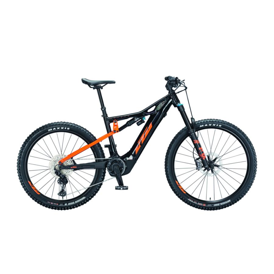 Ktm Macina Kapoho 2971 Férfi Elektromos Összteleszkópos Enduró MTB Kerékpár 2021