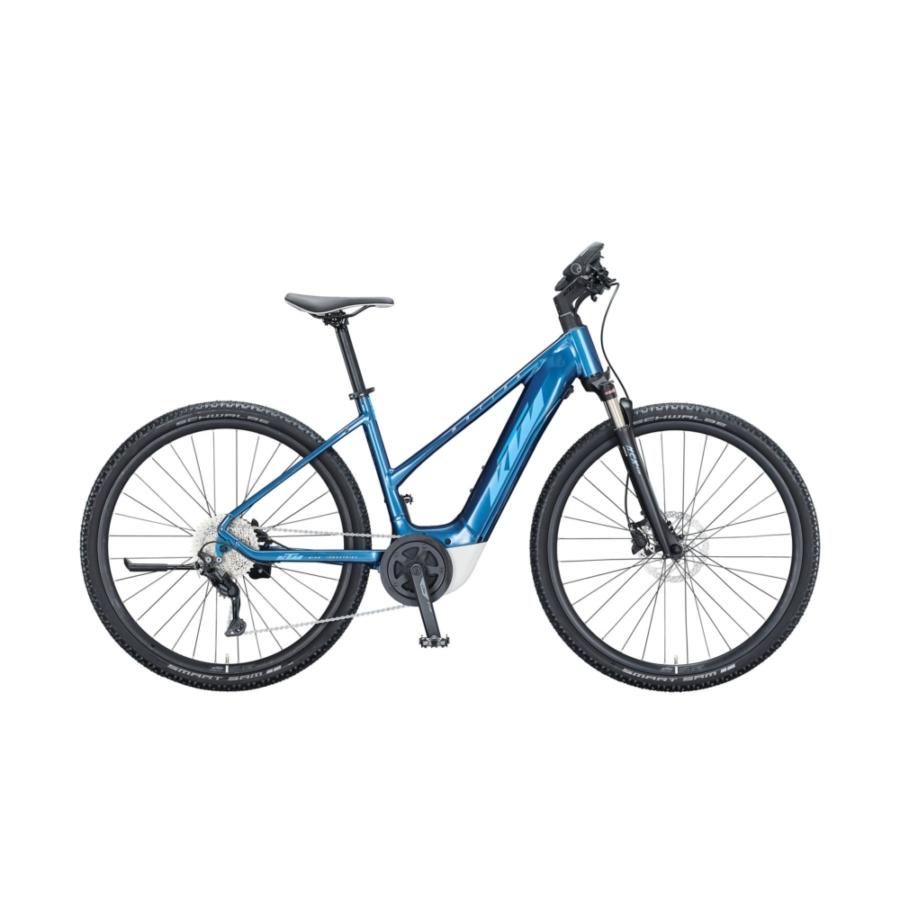 KTM MACINA CROSS P610 TRAPÉZ Női Elektromos Cross Trekking Kerékpár 2021