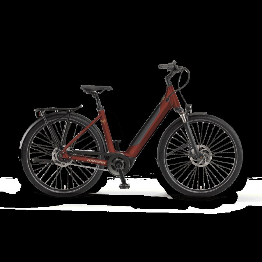 """Winora Sinus N5f Wave i625 27.5"""" Unisex Elektromos Városi Kerékpár 2021"""