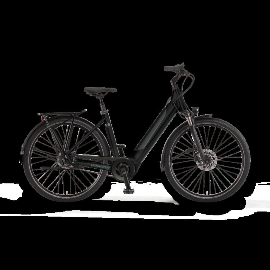 "Winora Sinus R8 i625 27.5"" EASY ENTRY Unisex Elektromos Városi Kerékpár 2021"