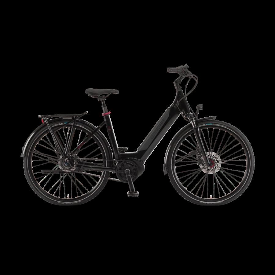 """Winora Sinus iR8f i500 28"""" EASY ENTRY Onyx Unisex Elektromos Városi Kerékpár 2021"""